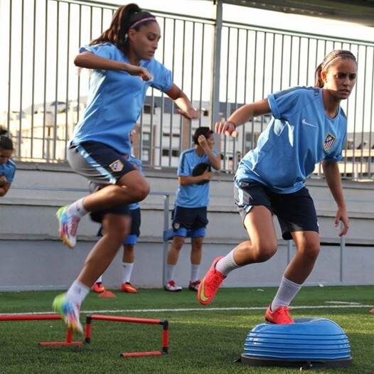 Selección española femenina de futbol tirante musculador RF Barcelona