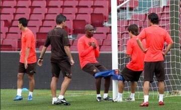 Abidal tirante musculador RF Barcelona