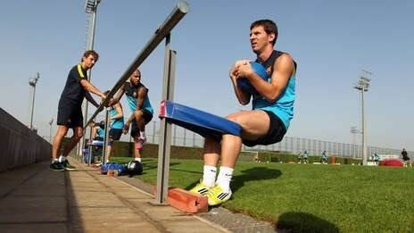 Messi tirante musculador RF Barcelona